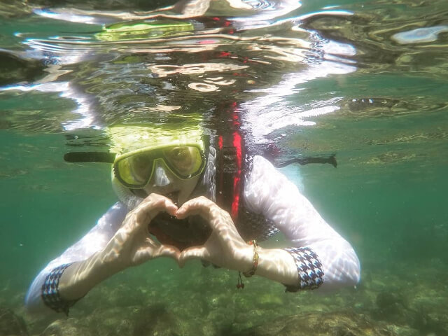 Pantai Nglambor, Tempat Snorkeling Terbaik di Gunungkidul