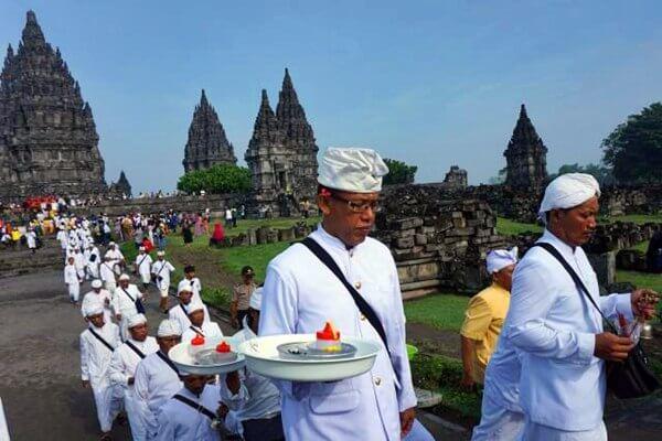 Belasan Ribu Umat Hindu Akan Rayakan Nyepi di Candi Prambanan