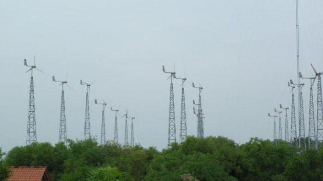 Pembangkit listrik tenaga bayu bantul