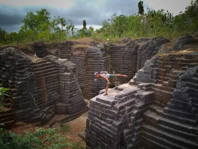 Watu Giring Bagaikan 'Peninggalan Suku Maya' di Gunungkidul