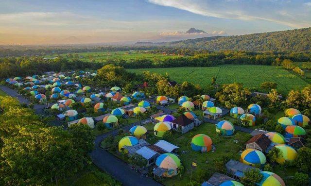 Rumah Dome, Dongeng Teletubbies Yang Ada di Jogja