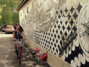 sepeda gratis untuk wisatawan maliobor