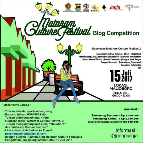 Mataram Culture Festival, Pestanya Blogger dan Photografer Jogja