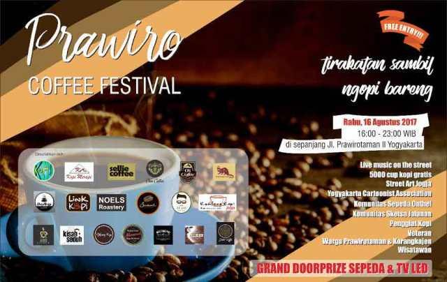 Prawiro Coffee Festival 2017