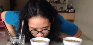 cupping kopi