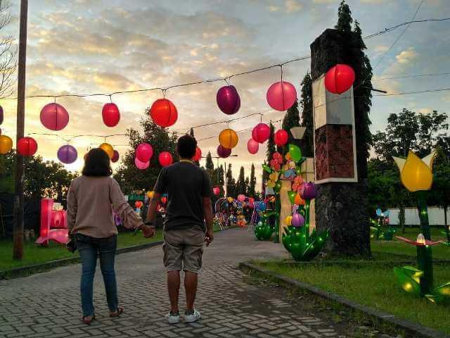 Jogja Lantern Park Festival Bantul Hadirkan Keceriaan di Momentum Pergantian Tahun
