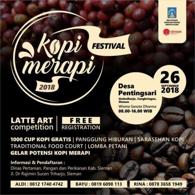 Festival Kopi Merapi 2018 Upaya Perkenalkan Kopi Premium Asli Sleman